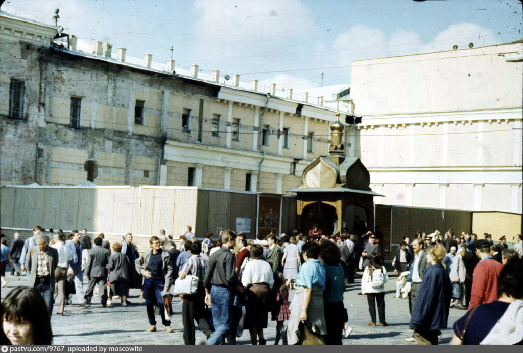 Реконструкция Казанского собора в Москве