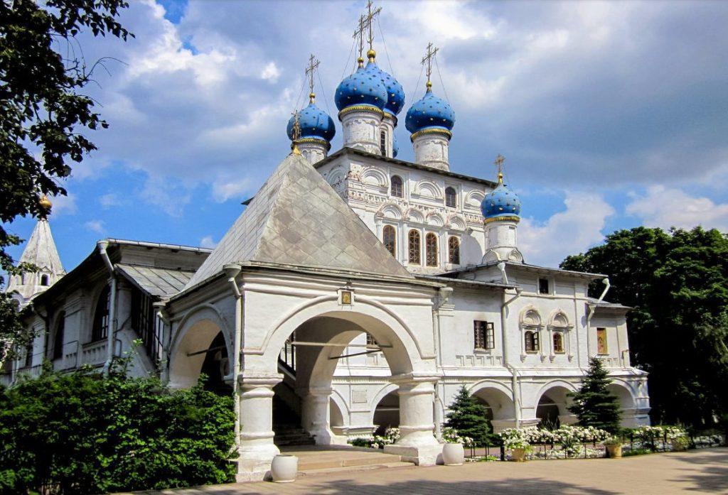 церковь казанской иконы божией матери в коломенском