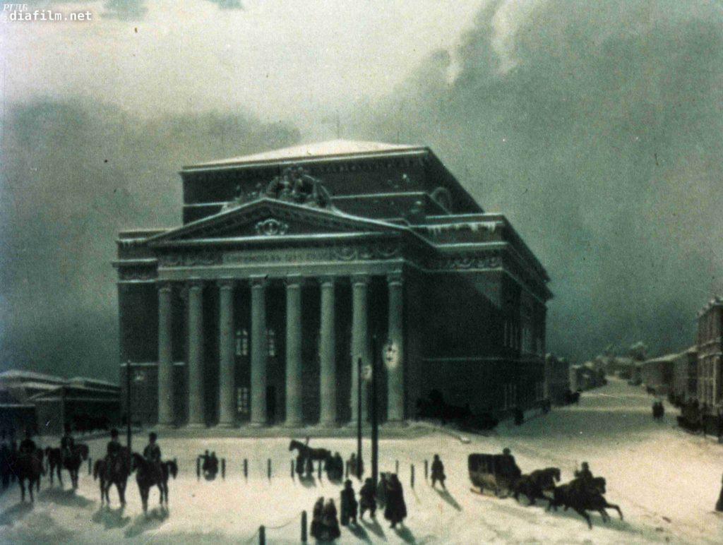 Большой Петровский театр в Москве