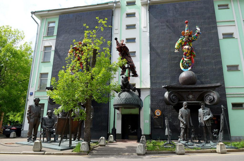 Музей-мастерская Зураба Церетели на Большой Грузинской улице