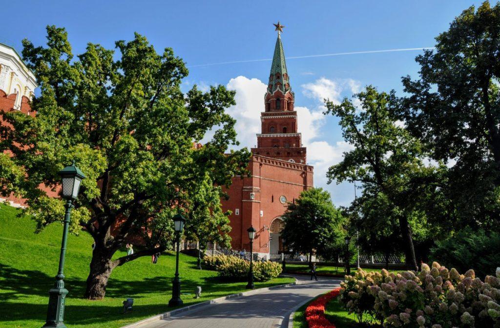 Боровицкая башня (Предтеченская) московского Кремля