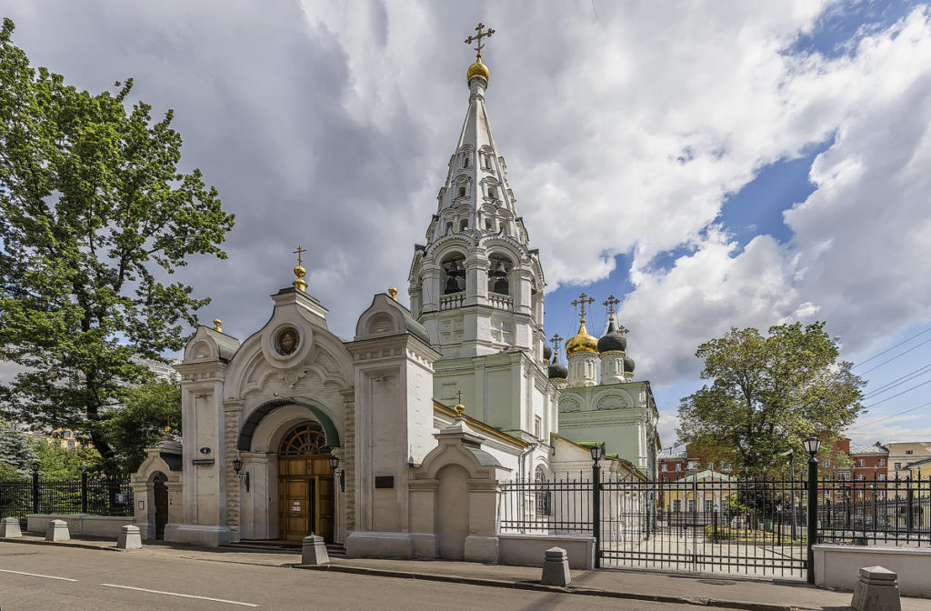 церковь Спаса Преображения спасопесковский переулок