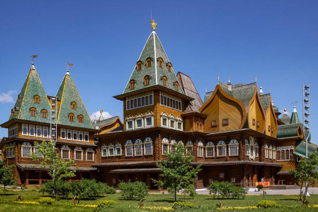 деревянный дворец алексея михайловича в коломенском