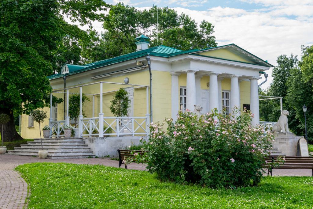 Дворцовый павильон в Коломенском