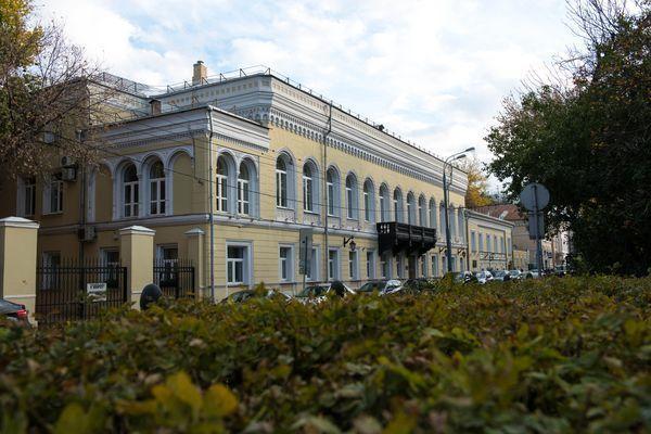 Гоголевский бульвар 14, Центральный дом шахматиста