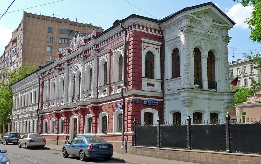 Гоголевский бульвар 5, усадьба Секретарева
