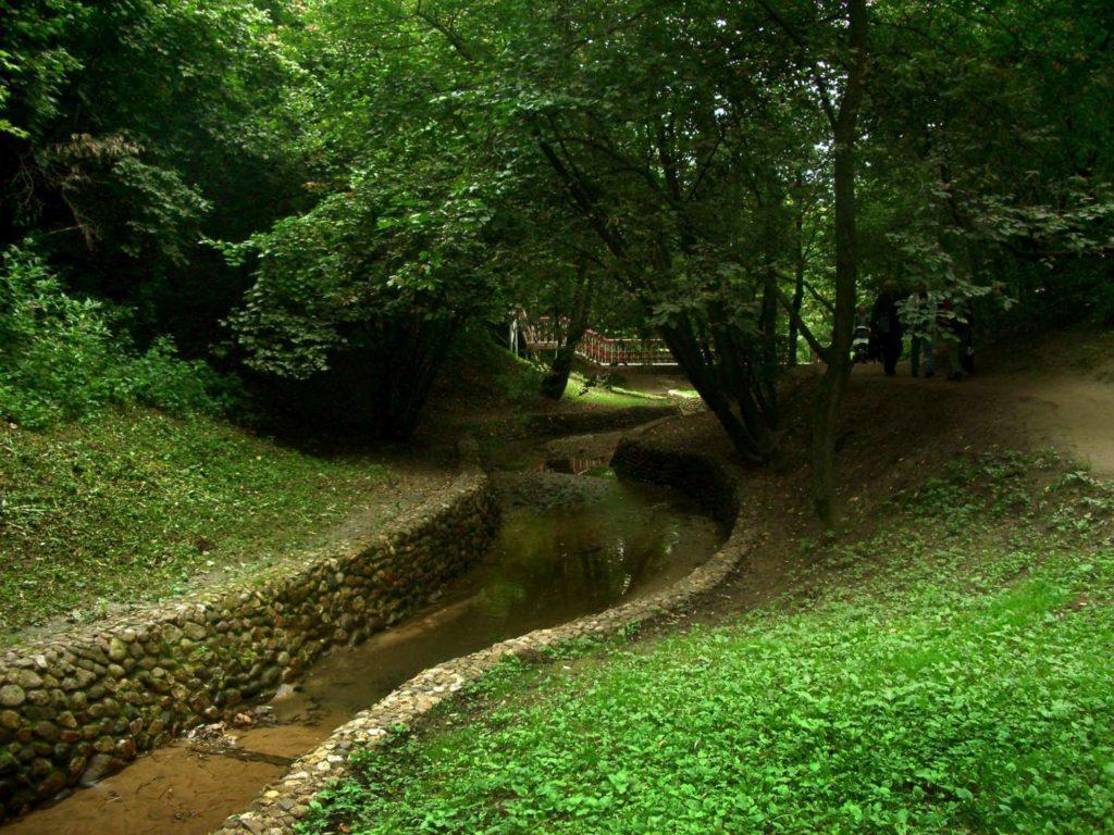 Голосов овраг в Коломенском парке