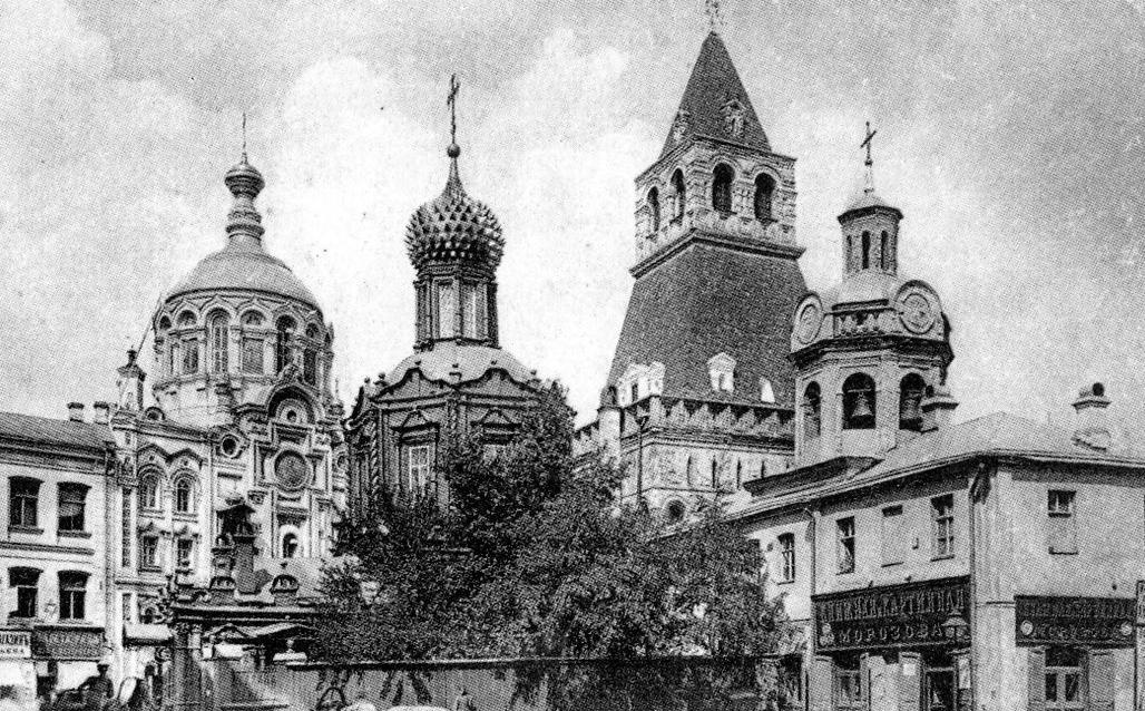 Иконы Божией Матери Владимирской у Сретенских (Владимирских) ворот.