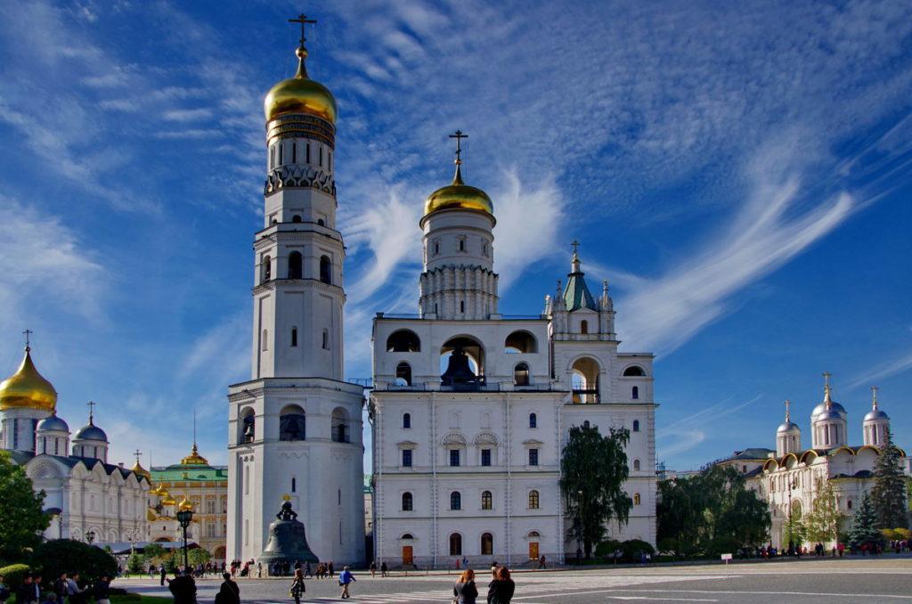 Колокольня Ивана Великого и звонница Кремля