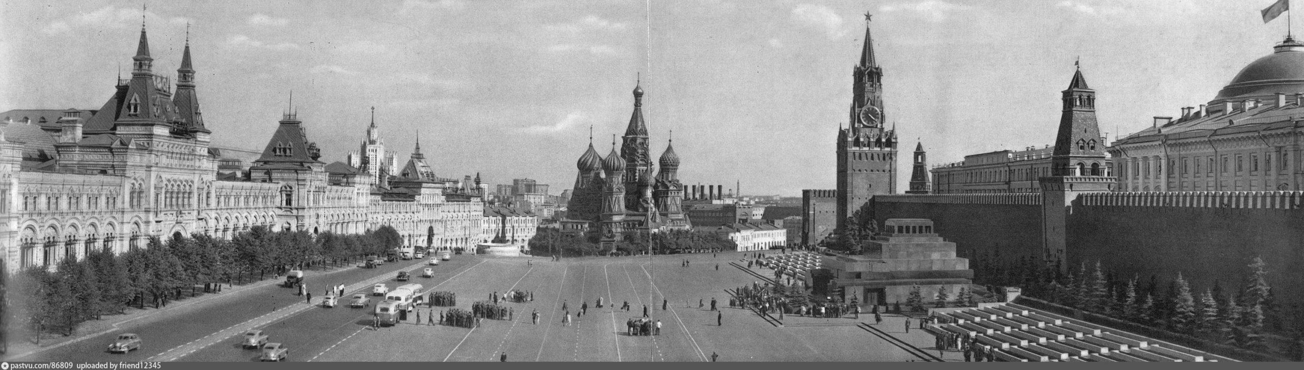 Историческая справка о Красной площади
