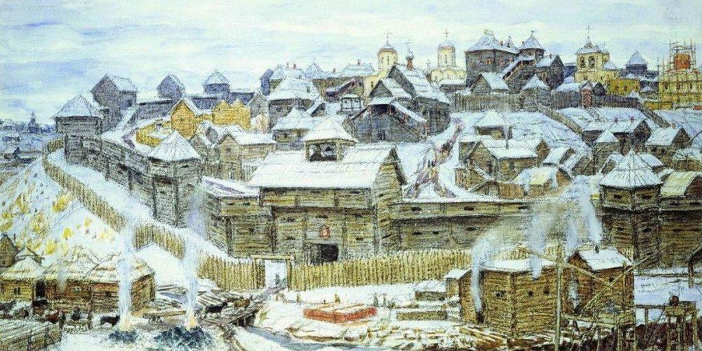 Кремль во времена Ивана Калиты
