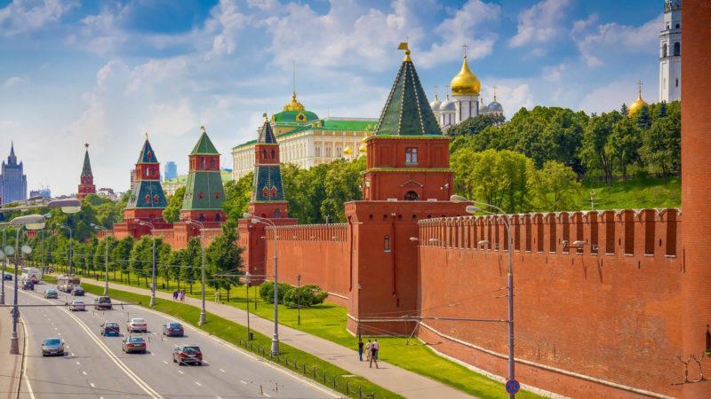 Московский Кремль. Стены и башни Кремля.