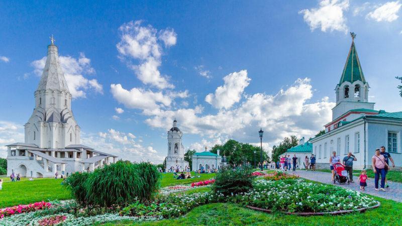 Парк Коломенское - музей-заповедник