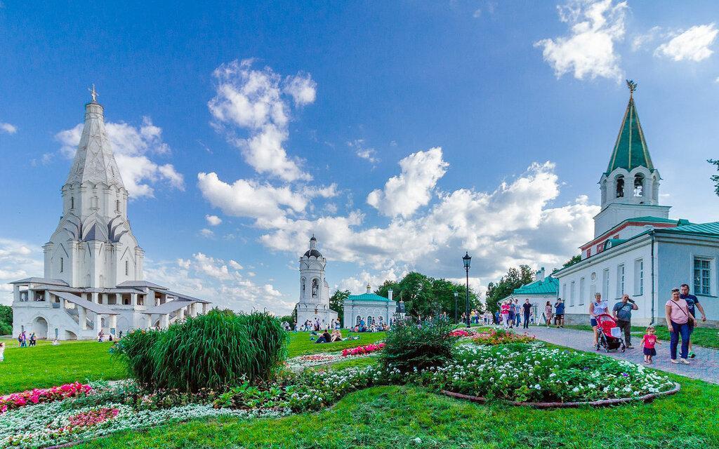 Парк Коломенское — музей-заповедник