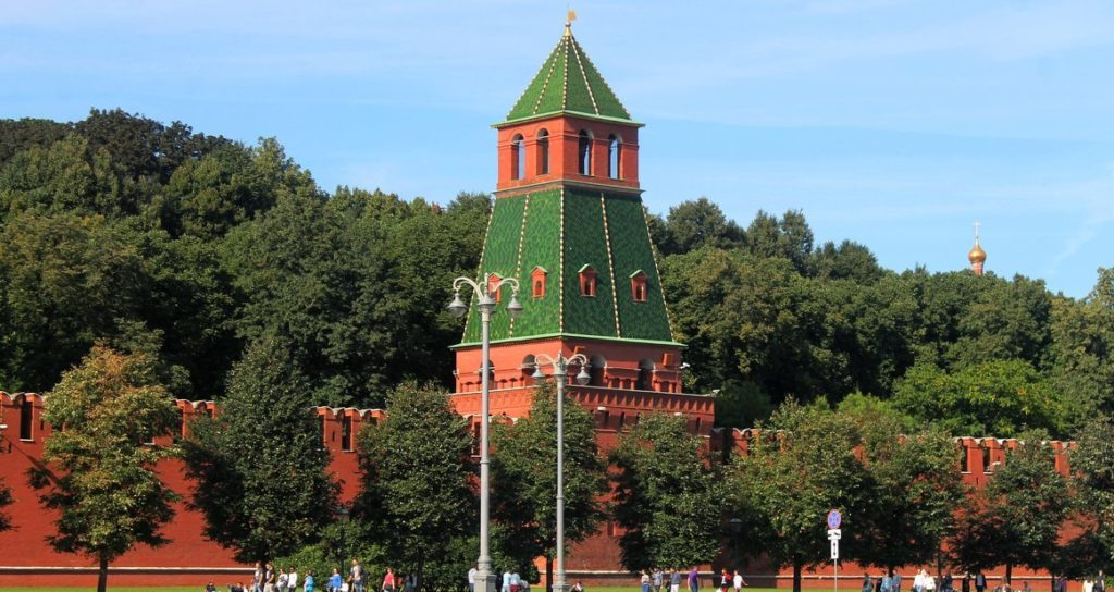 Первая Безымянная башня московского Кремля