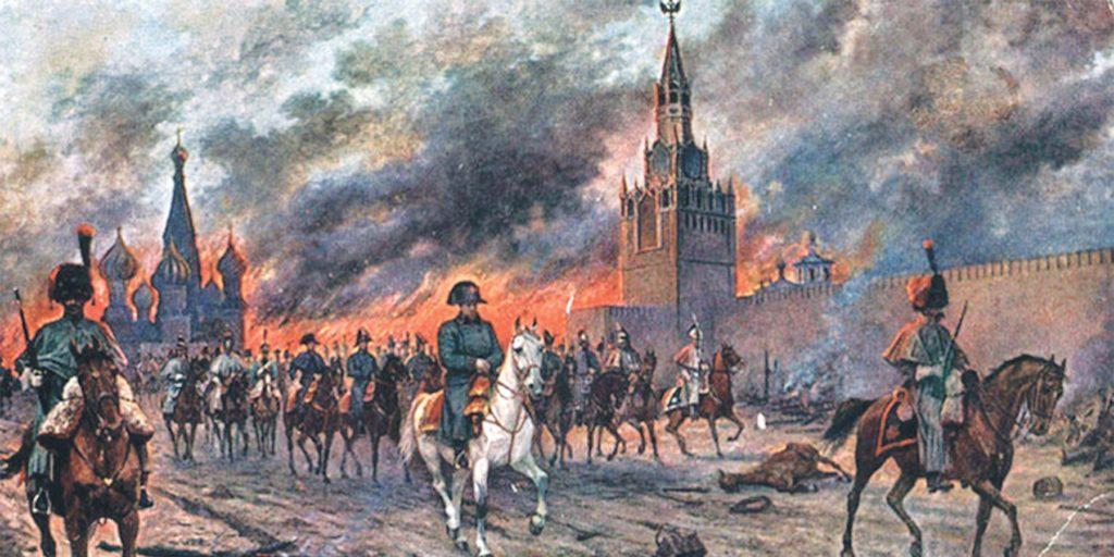пожар в москве в 1812 году