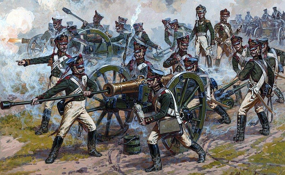 русская артиллерия 1812 года