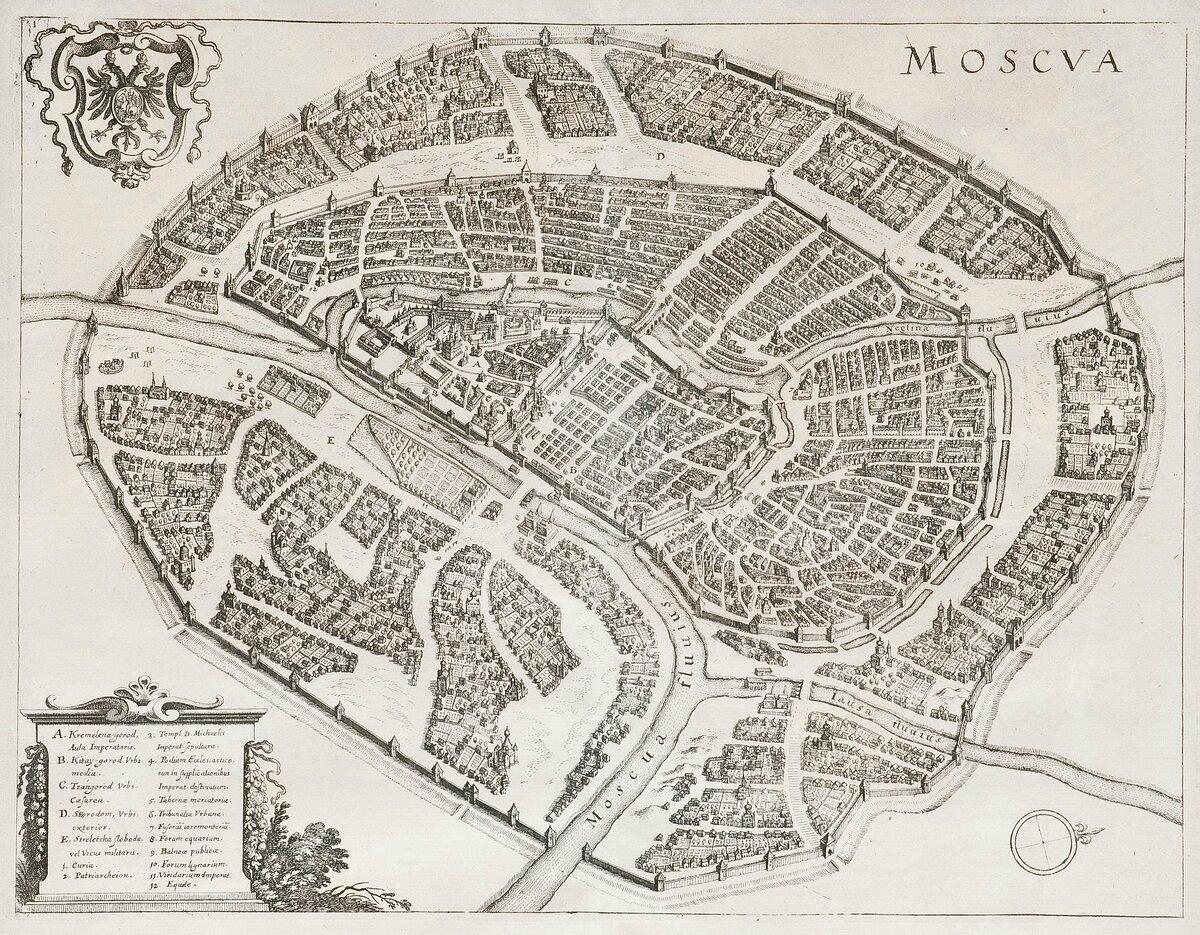 Схема белого города