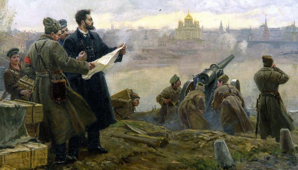 Штернберг руководит обстрелом Московского кремля