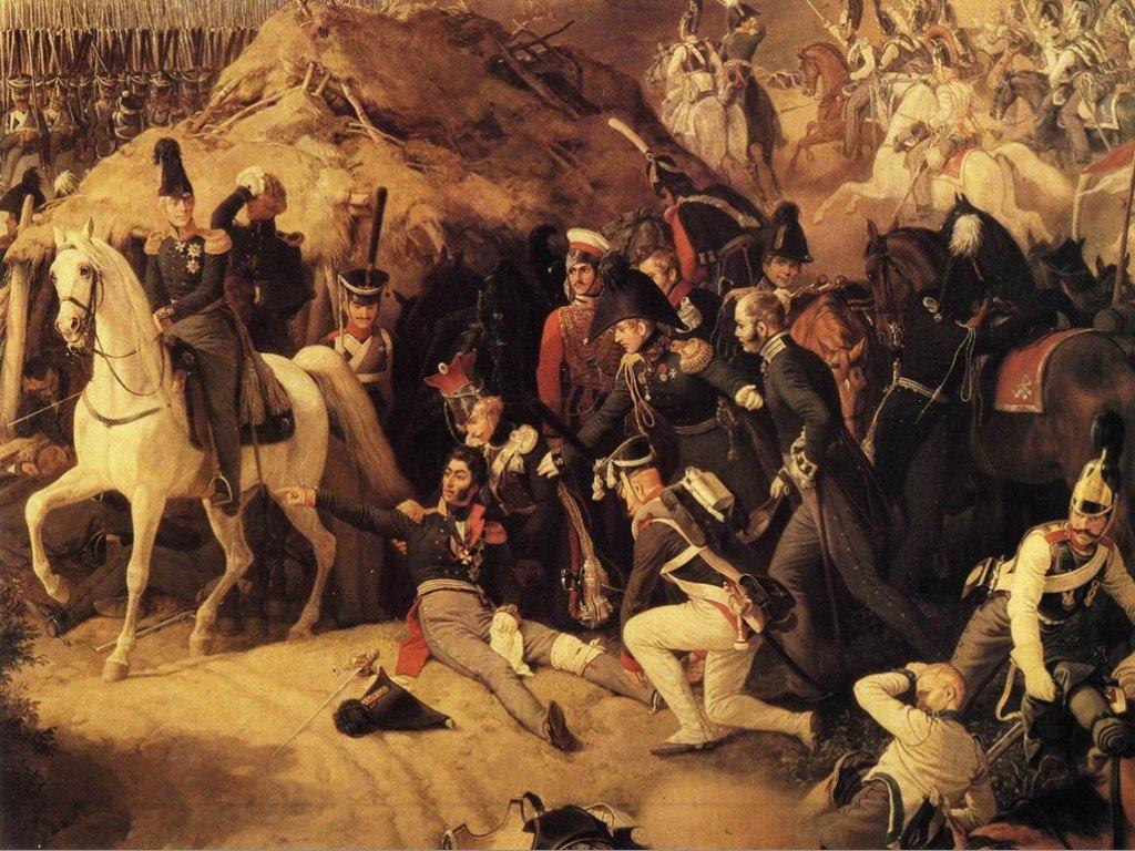 смертельное ранение Багратиона 1812