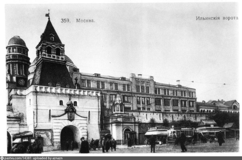 часовня в честь Сергия Радонежского у Ильинских ворот