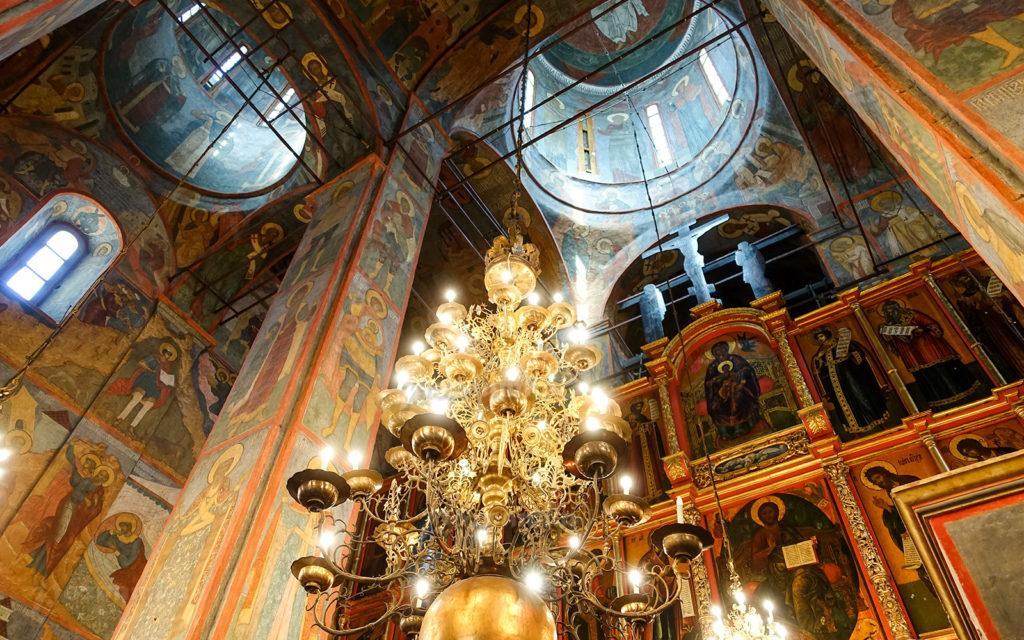 Роспись Архангельского собора