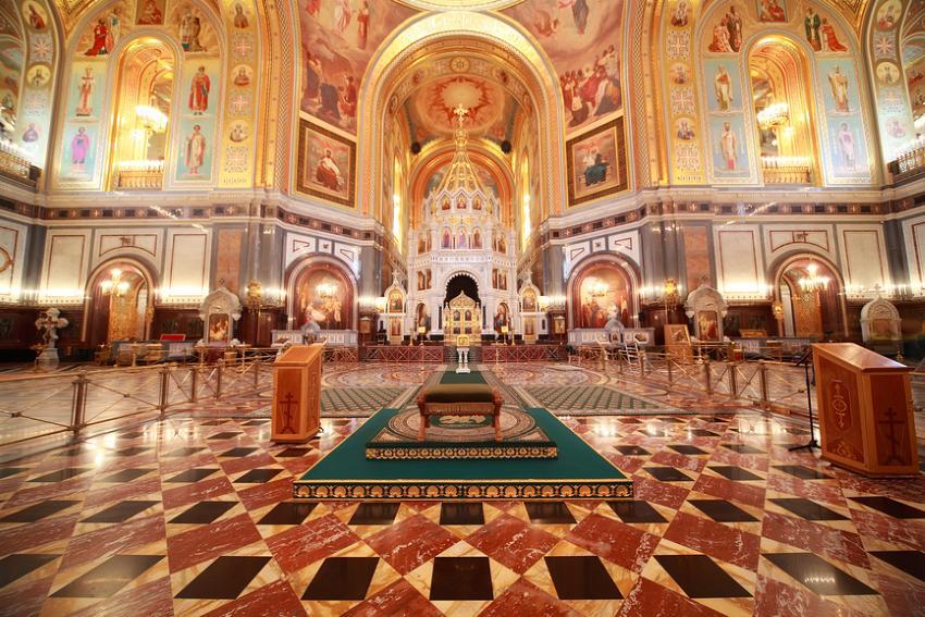 алтарь Храма Христа Спасителя