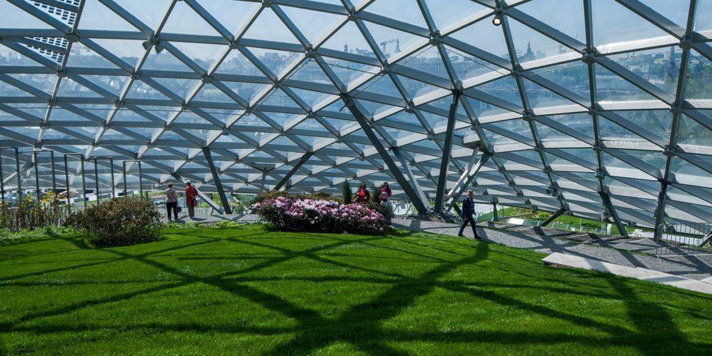 Архитектурные шедевры парка Зарядье