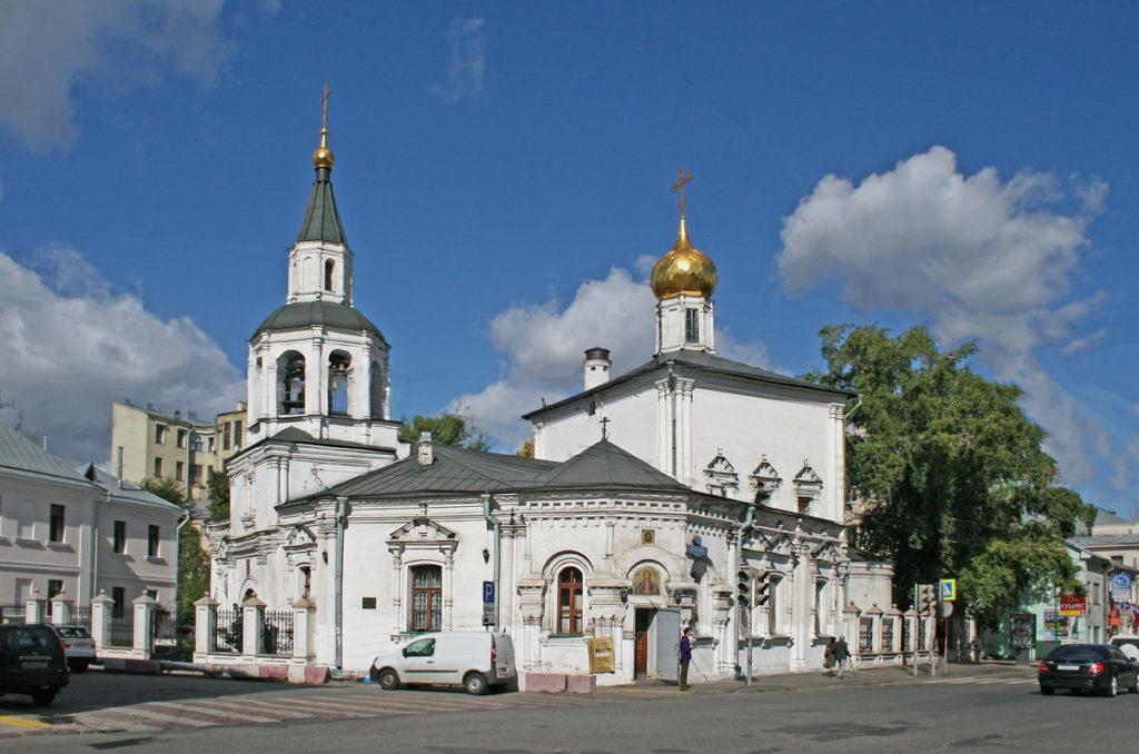 церковь Успения Богородицы в Печатниках