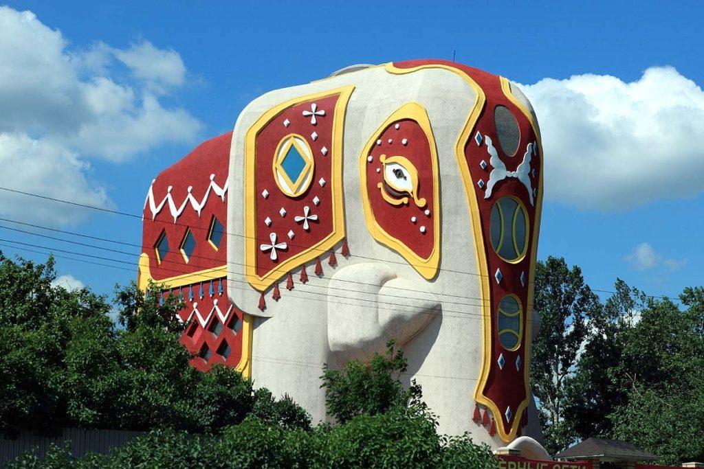 Дом в виде слона