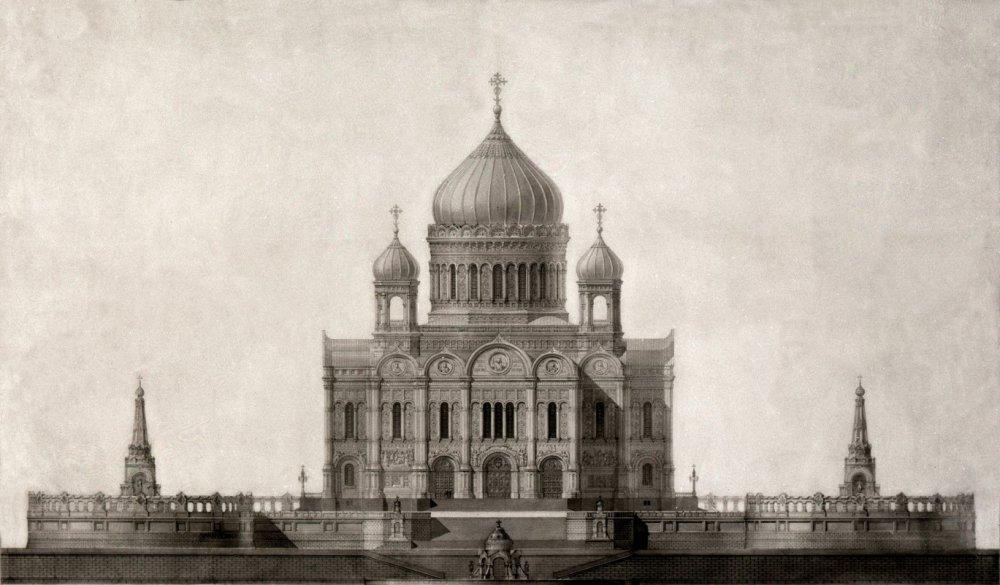 Храм Христа Спасителя по проекту Константина Тона