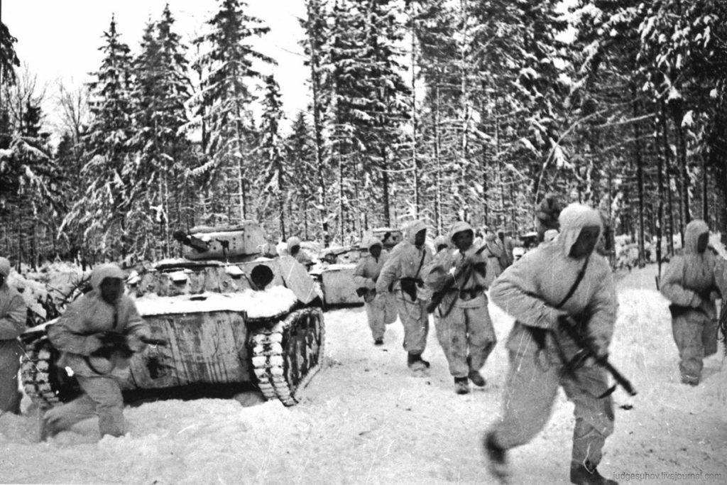 контрнаступление советской армии под москвой