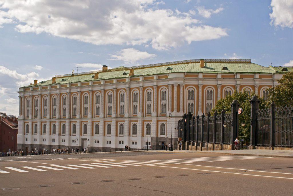 Оружейная палата и Алмазный фонд
