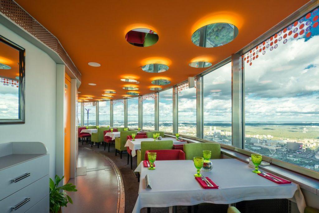 Ресторан Седьмое небо в Останкино