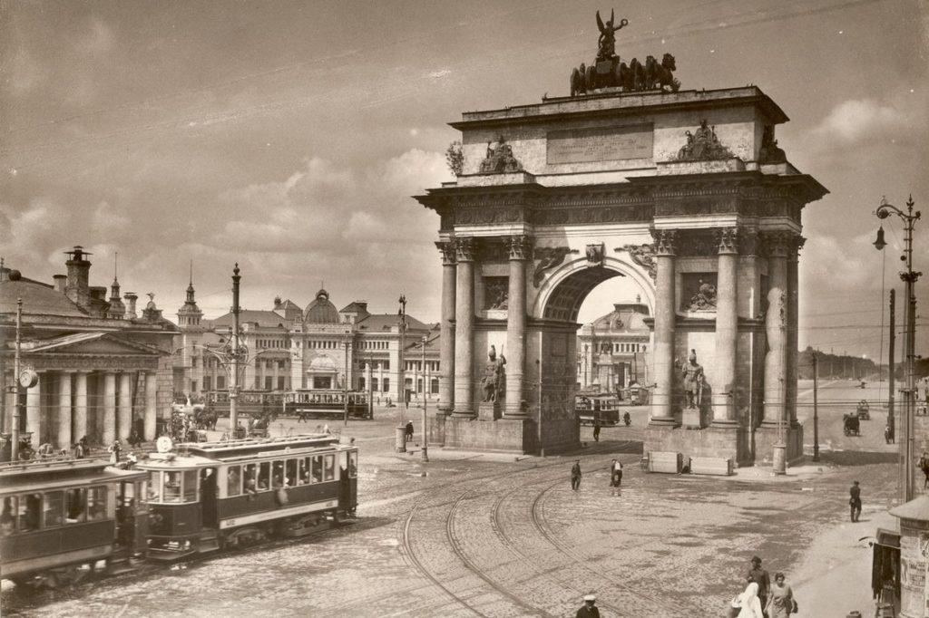 Триумфальная арка на Тверской заставе