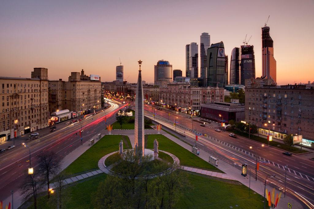 Обелиск «Москва – город-герой»