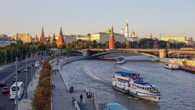 Над Москвой-рекой