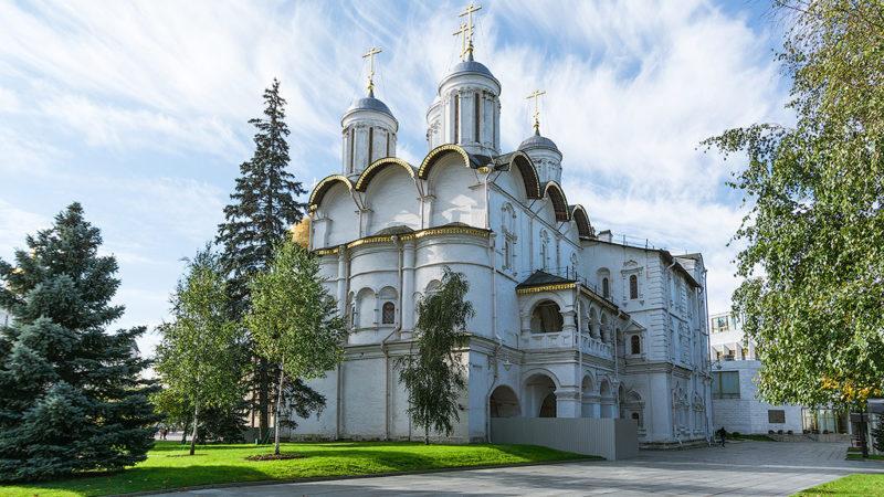 Патриаршие палаты с церковью Двенадцати Апостолов