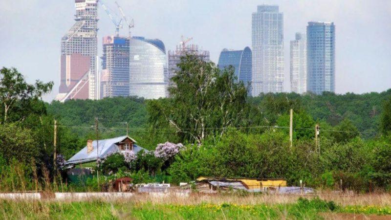 Москва большая деревня