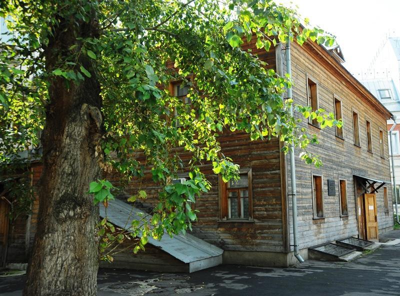 В музее Сергея Есенина