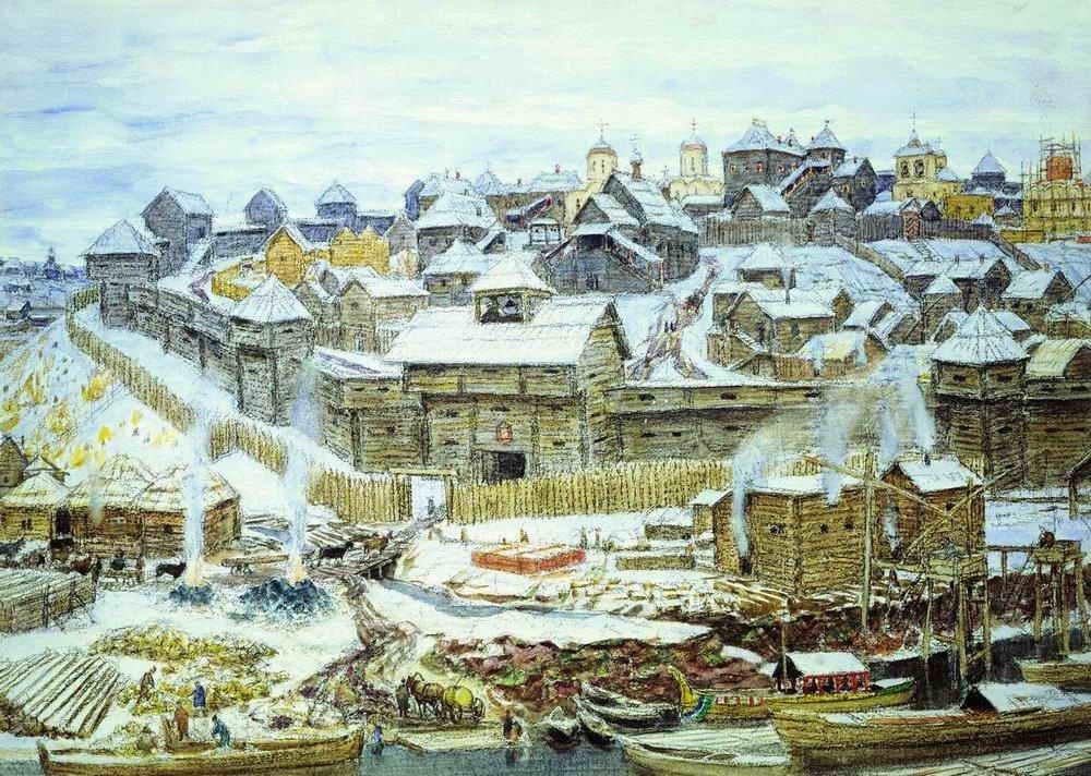 Рост и заселение городской территории Москвы