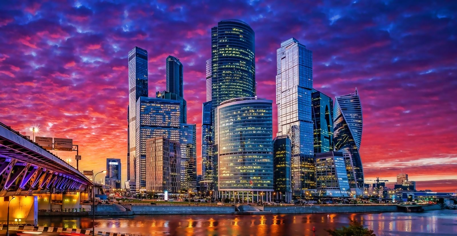 Небоскрёбы Москва-Сити
