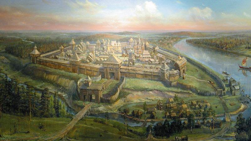 заселение территории Москвы