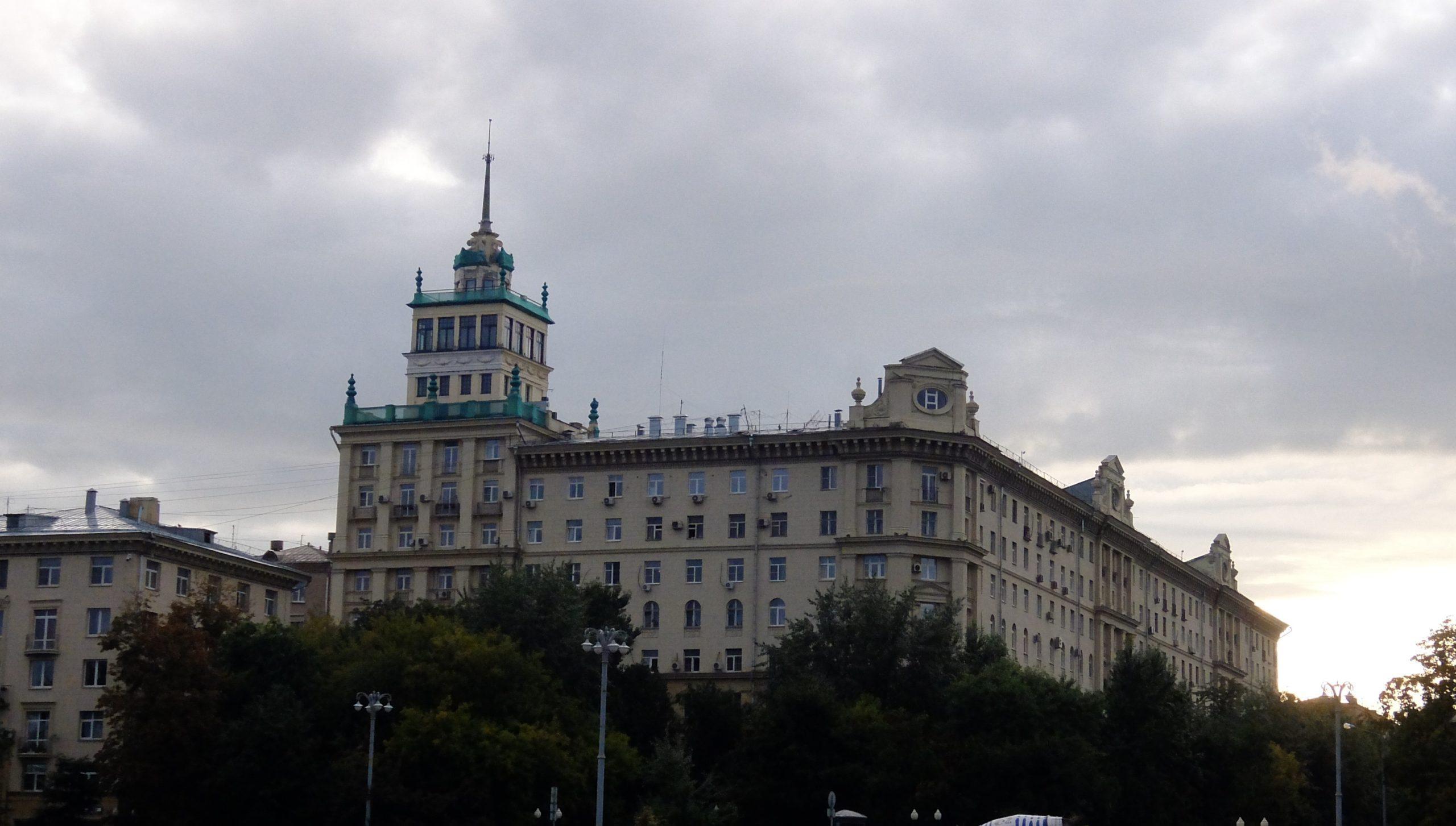 Фрунзенская набережная дом 24