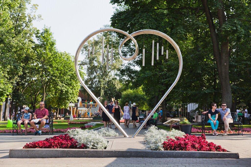 Памятник всем влюбленным в Эрмитаже