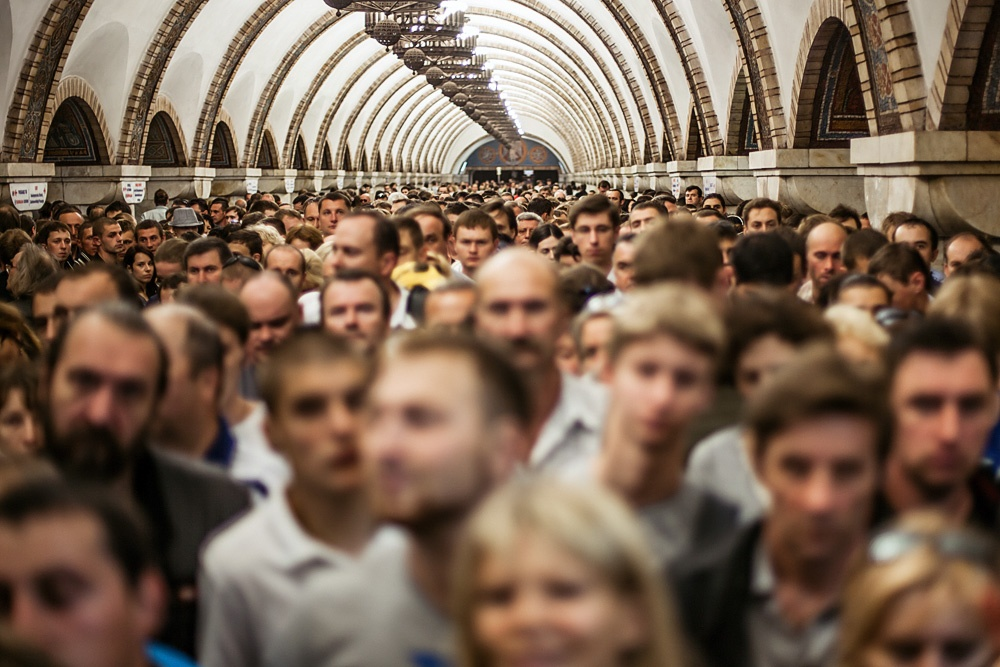 пробки в Московском метро