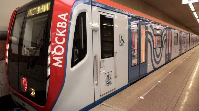 вагон московского метро
