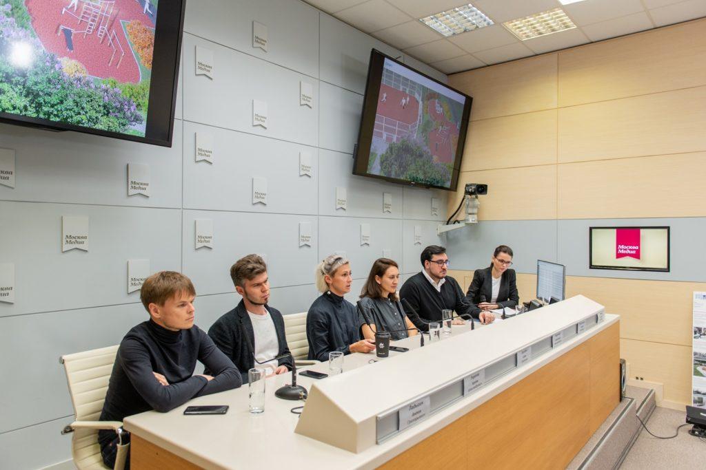 пресс-конференция, посвященная экспериментальной инициативе программы «Мой район»