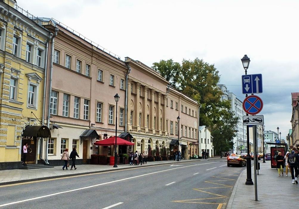 улица маросейка Дом № 3 Усадьба Толстых-Мещерских