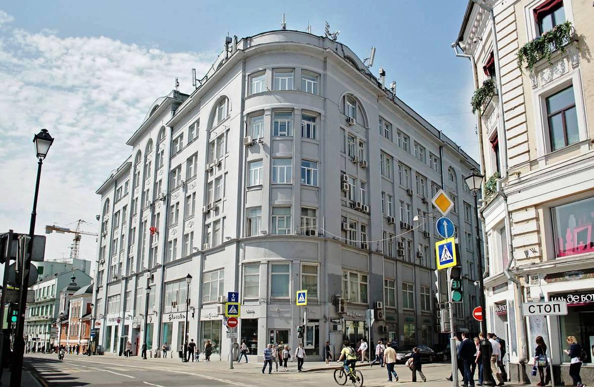улица маросейка Дом № 7 Здание Товарищества печатания